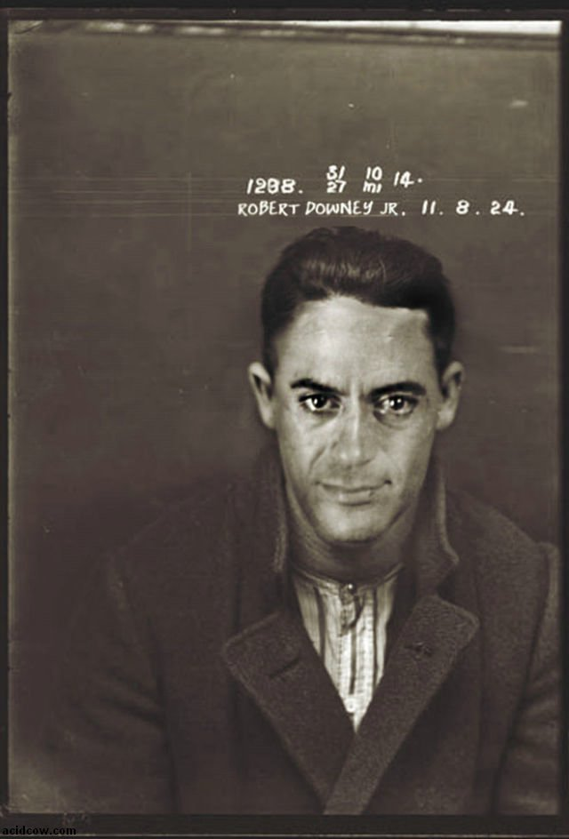 Vintage Mugshots of Celebrities (13 pics)