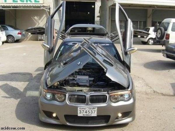 BMW with Crazy Doors (9 pics)