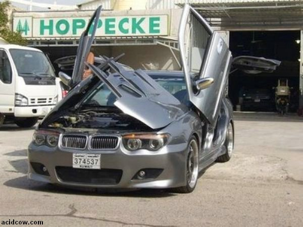 BMW with Crazy Doors (9 pics)