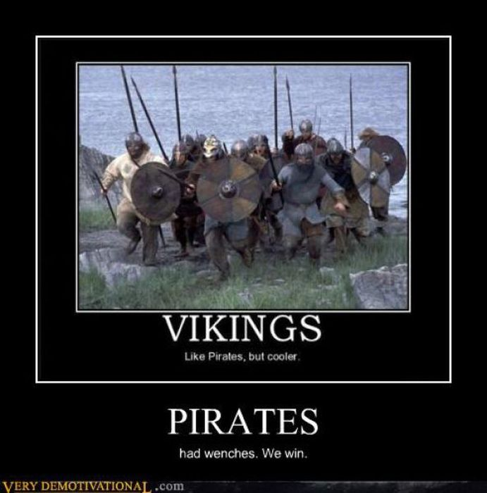 играть демотиватор про викингов остались