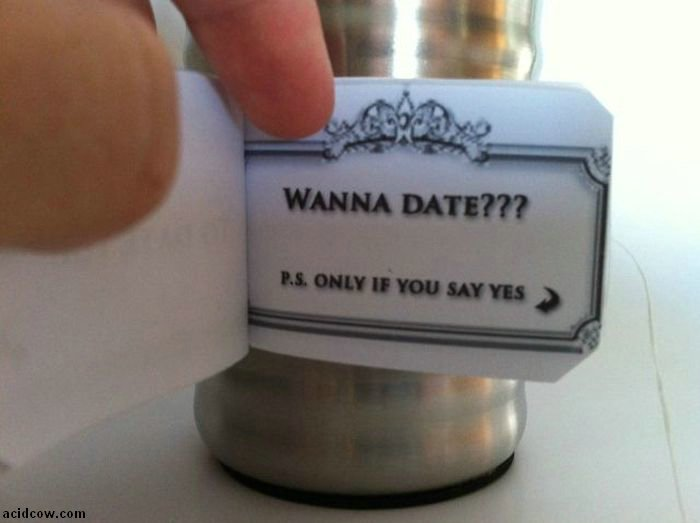 How to Ask a Girl Out (19 pics)