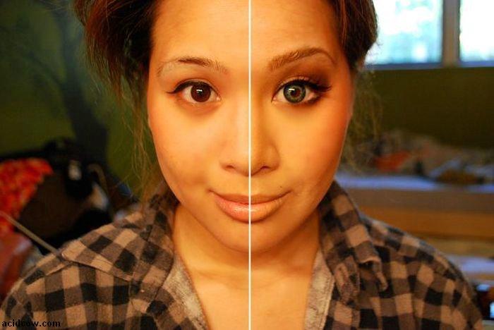 No Magic Here, Just Makeup (19 pics)
