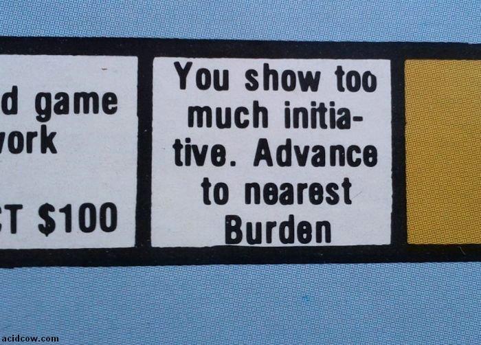Public Assistance Board Game (17 pics)
