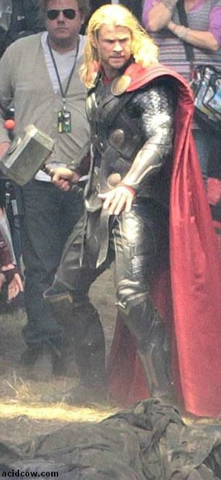 Thor: The Dark World. Behind the Scenes (19 pics)