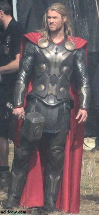 Thor: The Dark World. Behind the Scenes (19 pics)