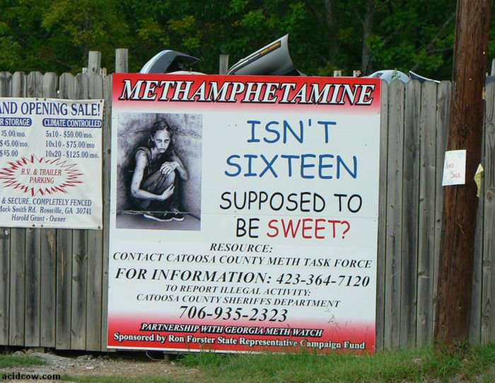 Meth. Not Even Once (54 pics)