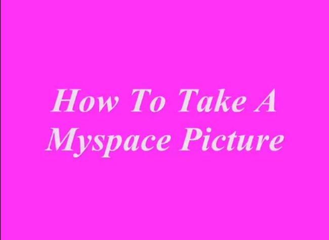 How to Take Myspace Profile Pictures (28 pics)