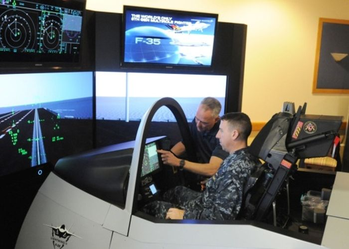 F-35 Flight Simulators (27 pics)