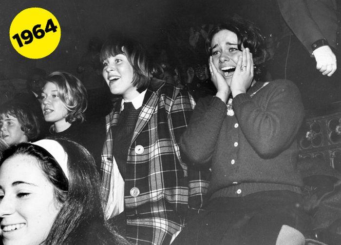 Beatles Fangirls Vs. One Direction Fangirls (38 pics)