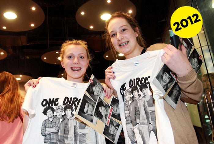 Beatles Fangirls Vs. One Direction Fangirls (38 pics)