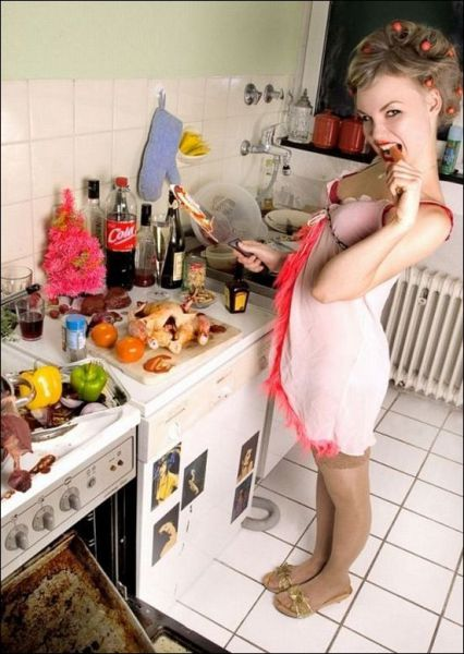 Hot Kitchen Girls 43 Pics-6812