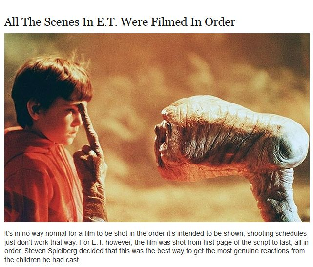 Interesting Facts About E.T. (10 pics)