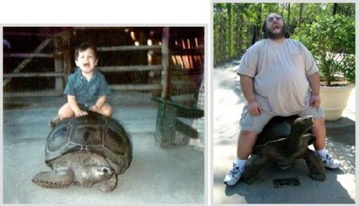 Then and Now (40 pics)