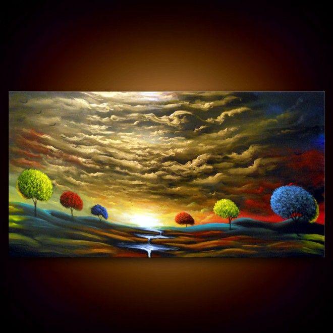 Colorful Landscape Paintings by Artist Matthew Hamblen (22 pics)