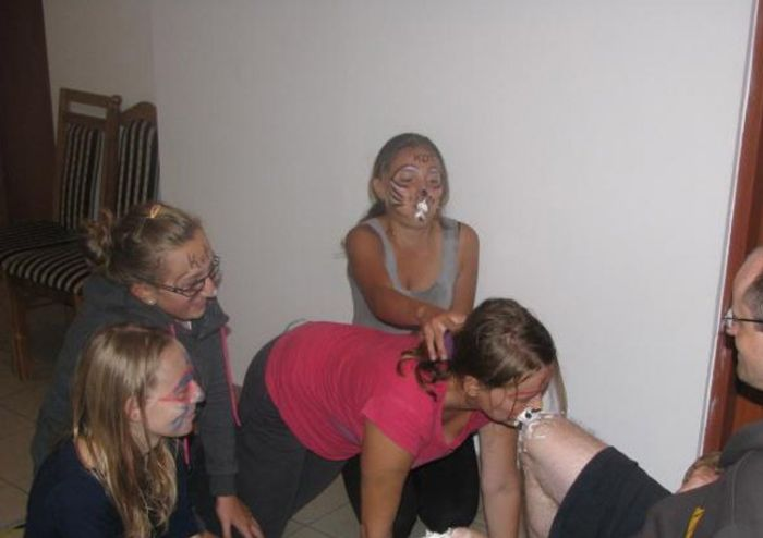 Bizarre Initiation Ceremony at Polish School  (30 pics)