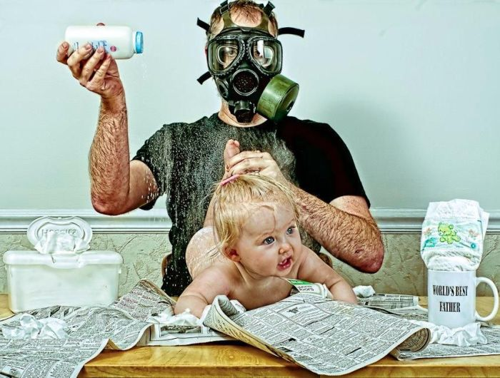 Dad and Daughter (32 pics)