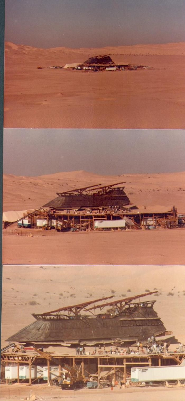On the Set of the Star Wars (35 pics)