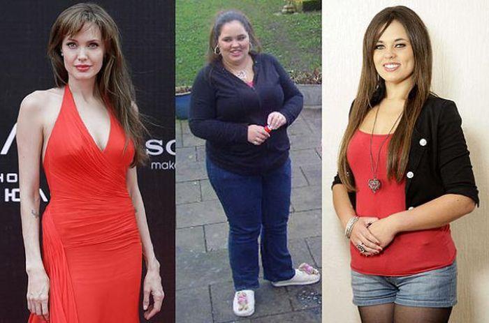 Amazing Transformations Thanks to Angelina Jolie (11 pics)