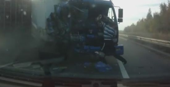 The Luckiest Truck Driver Ever
