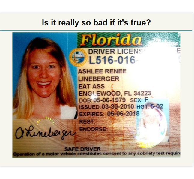 Awkward IDs and Licenses (19 pics)