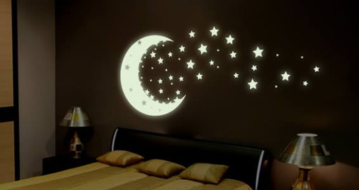 Glow in the Dark Bedroom Decoration (16 pics)