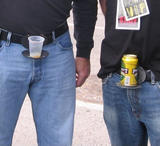 The Beer Buckle (8 pics)