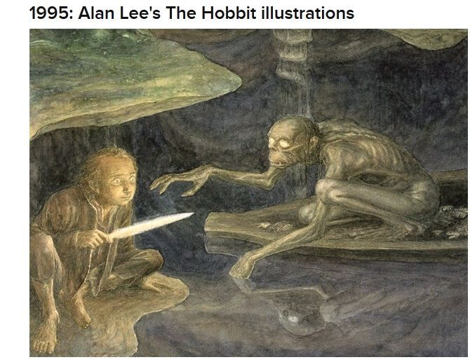 Hobbit Illustrations (24 pics)