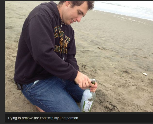 Message in a Bottle (8 pics)