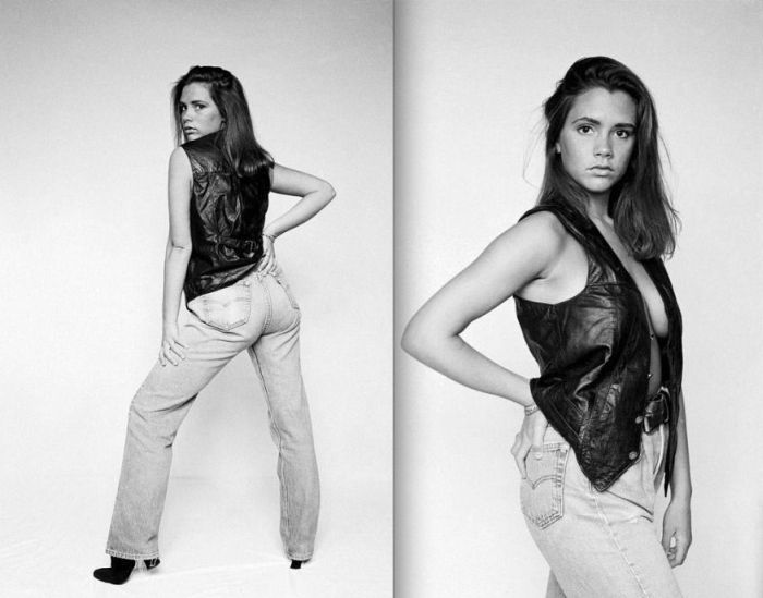 Victoria Beckham at the Age of 18 (10 pics)