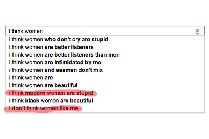 What Google Knows About Women (15 pics)