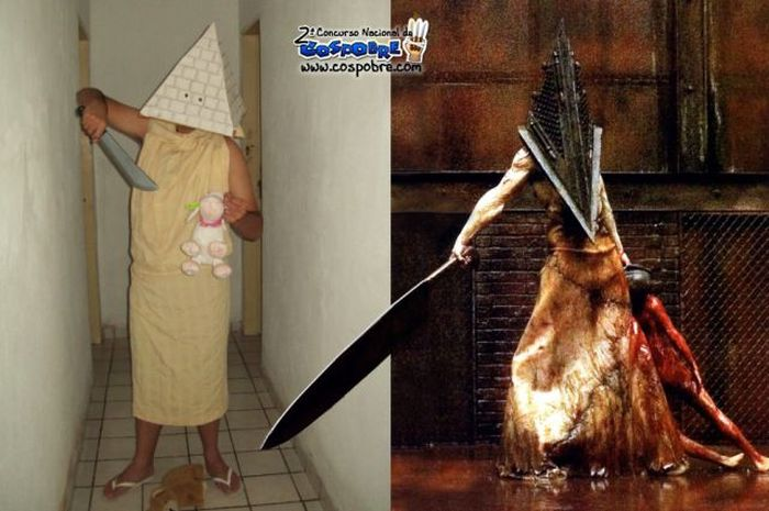 Hilarious Budget Cosplay Costumes (63 pics)