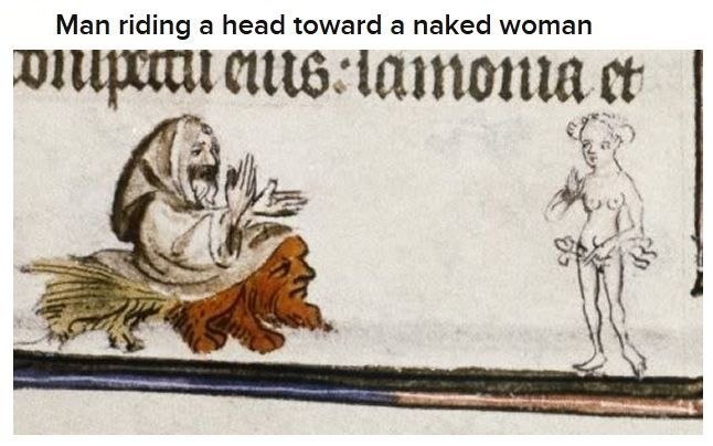 Bizarre Medieval Illustrations (20 pics)