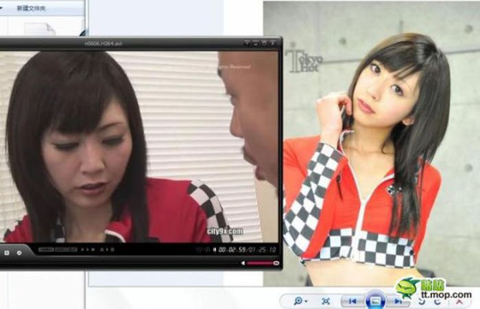 Japanese Adult Actresses in Cover Photos and in Real Life (8 pics)