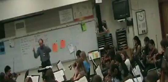 Crazy Music Teacher Rage Prank