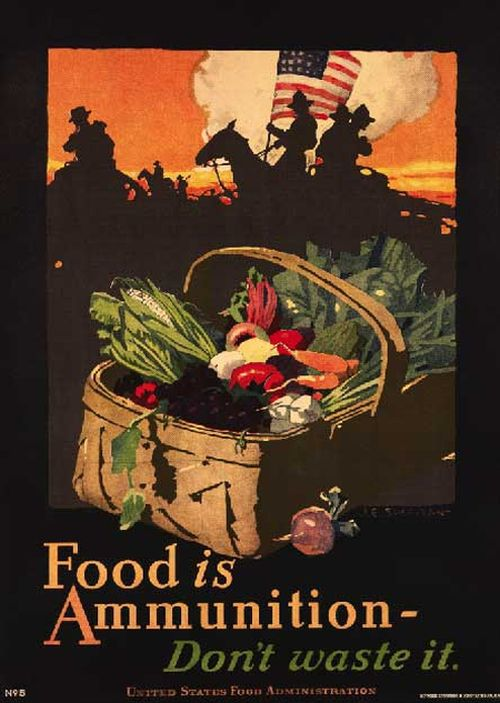 Dont Waste Food Vintage Posters 11 Pics-6663