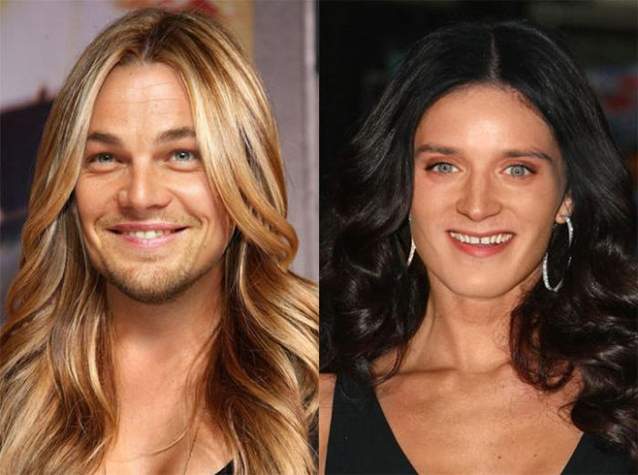 Celebrities in Virtual Gender Switch (20 pics)