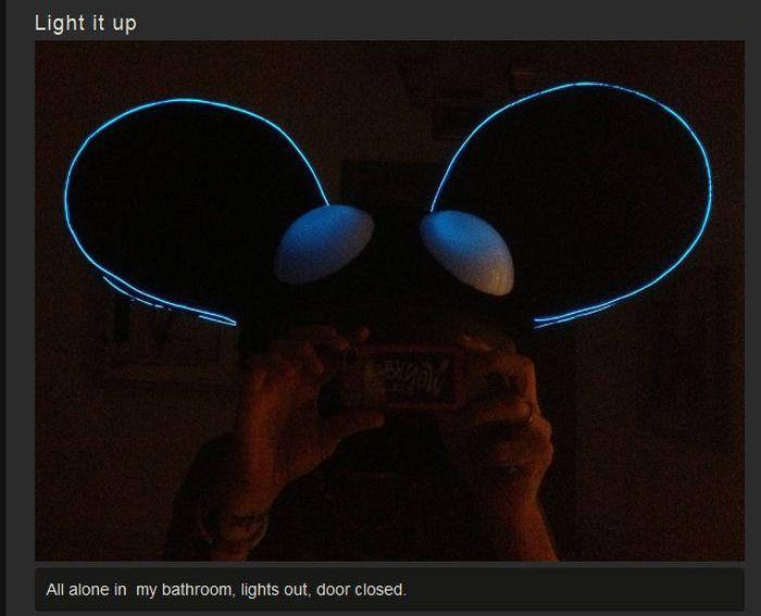 Deadmau5 Halloween Costume (12 pics)
