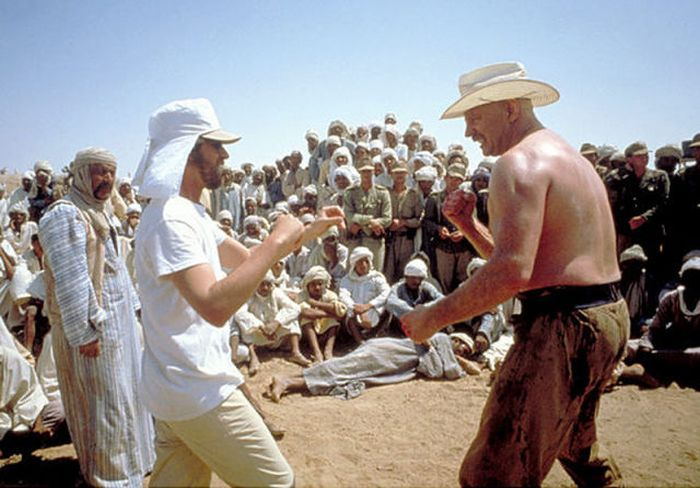 "Behind the Scenes Photos of ""Raiders of the Lost Ark"" (31 pics)"
