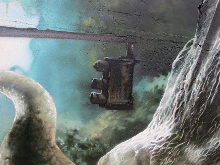 The Jurassic Park Wall Art (24 pics)