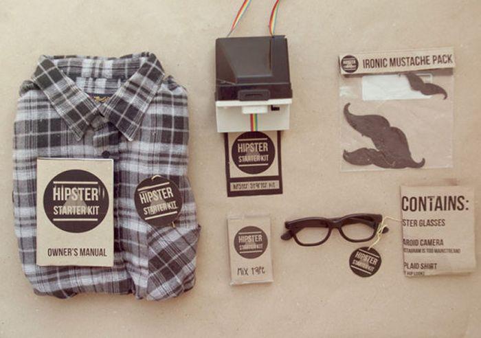 Hipster Starter Kit (8 pics)