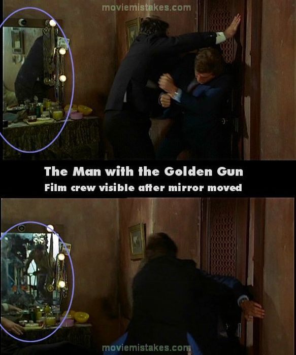 Bond Movie Bloopers (22 pics)