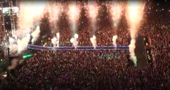 80,000 Fans at PSY Gangnam Style Concert in Seoul