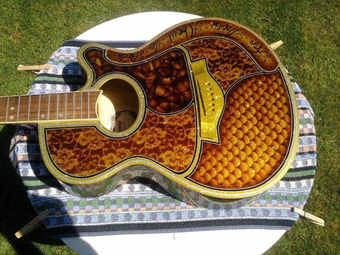 Awesome Guitar Custom Paint Jobs (18 pics)
