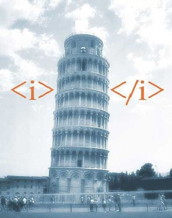 HTML in Pictures (35 pics)
