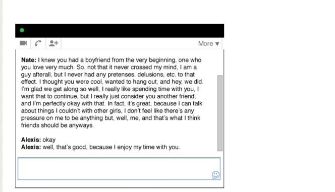 A Love Story In GChats (26 pics)