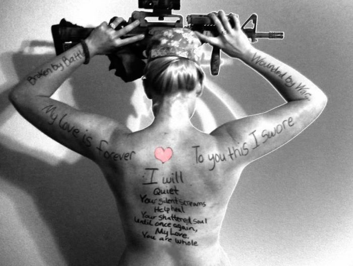 Messages for Husbands on Their Wives' Backs (34 pics)