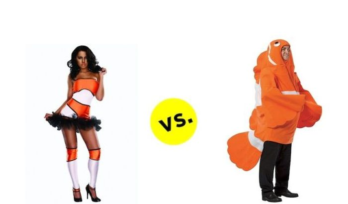 The Difference Between Men's And Women's Costumes (22 pics)