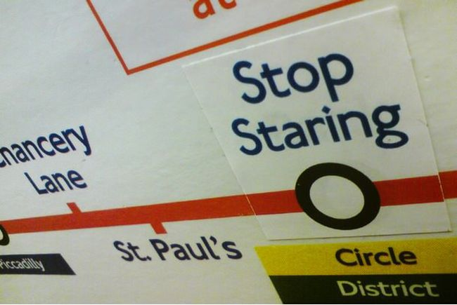 Trolling on the London Underground (20 pics)