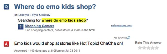 What People Want To Know About Emo Kids (27 pics)