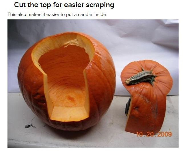 Pumpkin-Carving Tutorial (13 pics)